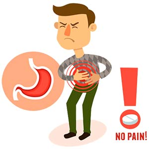 What causes bloating in the stomach