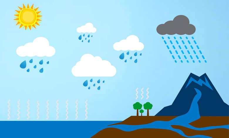 How rain is formed
