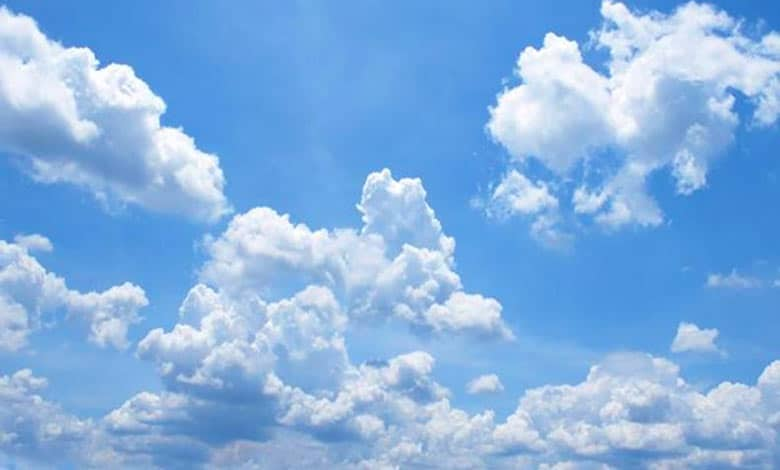 Why clouds are white