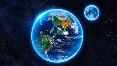 Why does not moon fall on earth