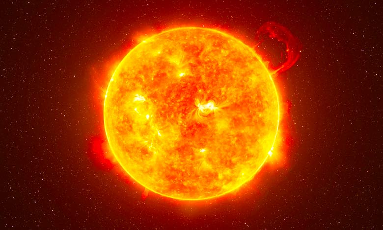 Is the Sun a ball of fire