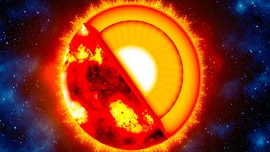 Is the sun solid liquid or gas