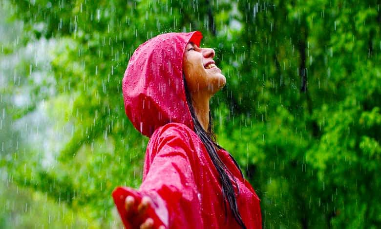 What causes the smell after rain