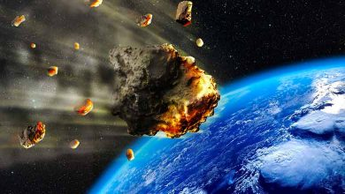 Why do meteorites fall to earth