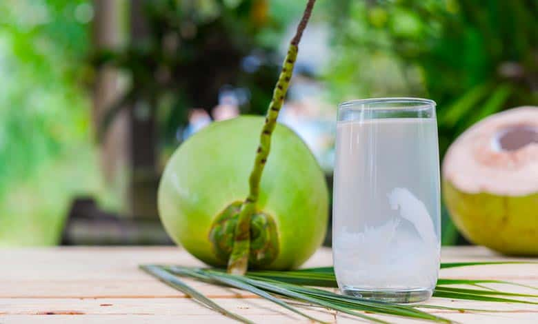 How does water get into coconut